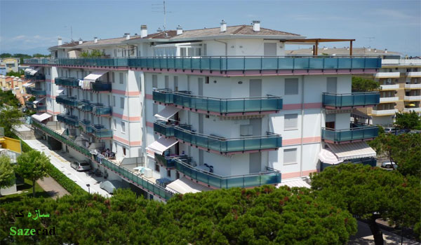 پاورپوینت رایگان طرح 5 معماری(مطالعه مجتمعهای مسکونی)