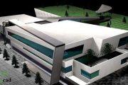 دانلود رایگان پلان دانشکده هنر و معماری همراه با رندر