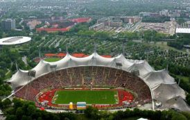 معماری استادیوم المپیک مونیخ