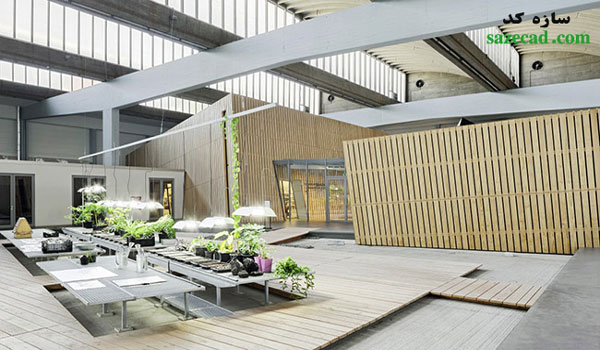 معماری و طراحی داخلی آکادمی موزه یهود برلین