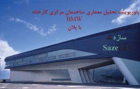پاورپوینت تحلیل ساختمان مرکزی BMW با پلان